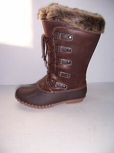 c26d9293f150f Yuu Fiona Women s Dark Brown Cold Weather Mid-Calf Boots SIZES 6   7 ...