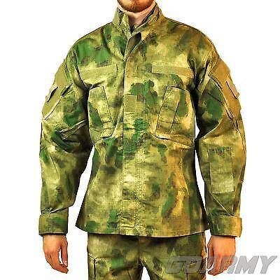 MFH ATACS BDU Combat Jacket Shirt FG FOLIAGE GREEN Camo
