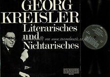 LP-- GEORG KREISLER LITERARISCHES NICHTARISCHES