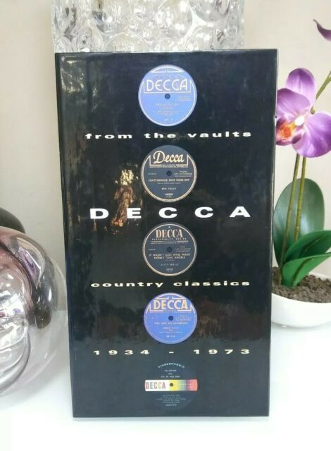 From Vaults Decca Country Classics 1934-1973 Box 3-CDs 1994 MCA Buy it SHIPSFAST