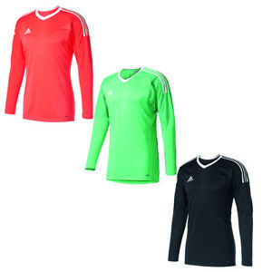 Details zu adidas Revigo 17 Torwarttrikot Kinder Erwachsene rot schwarz grün