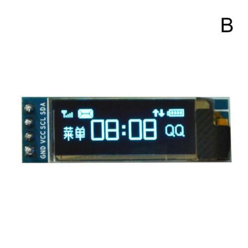 NEW IC I2C 0.91inch 128x32 Blue OLED LCD Display Module 3.3v 5v for PIC