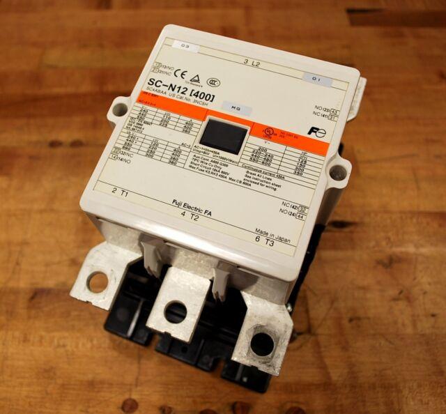 Fuji Electric SC-N12 [400] Circuit Breaker SC4ABAA - USED on