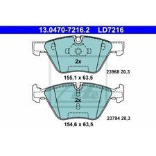 ATE 13.0460-7216.2 4x Bremsbel/äge vorne