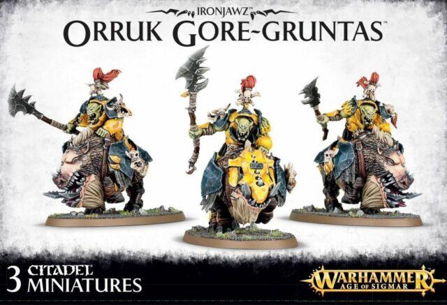 Games Workshop Warhammer Age of Sigmar Ironjawz Orruk Gore-gruntas for sale online