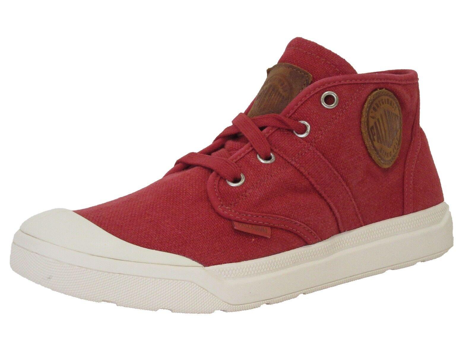 Palladium Pallarue Mid Lc Mens Canvas Sneakers shoes 12 D(M) US   46 EUR