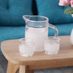 3x-set-1-12-Dollhouse-Miniature-Milk-Jug-Milk-Cups-Doll-Kitchen-Accessories-YK