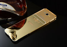 HONEY MONEY SAMSUNG GALAXY J2 2015 OLD EDITION METAL BUMPER & MIRROR BACK CASE