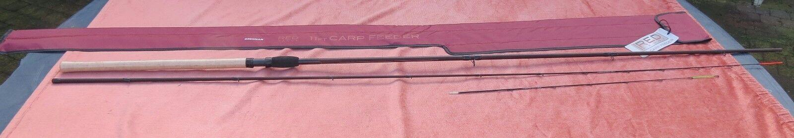 Canne feeder drennan red range 11ft