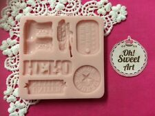 ARMY set silicone mold fondant chocolate cake decorating food soap cupcake FDA