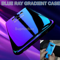 Blu Ray Gradient Colour Mirror Hard Back Case Cover For Samsung Galaxy S8 & S8+