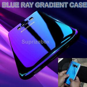 Blu-ray-Gradiente-Color-Espejo-Funda-Rigida-Posterior-para-Samsung-Galaxy-S8-amp