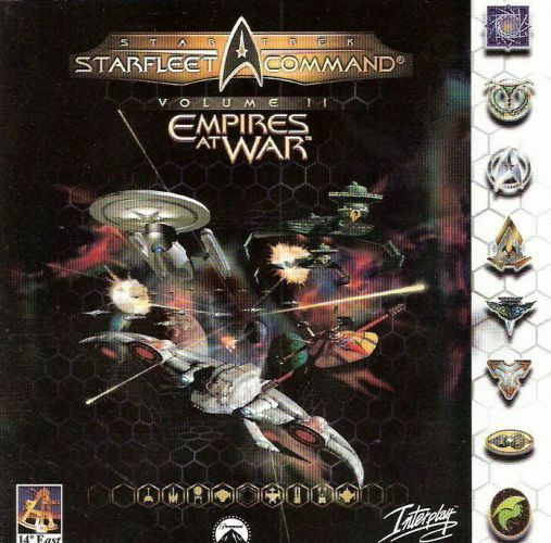PC CD-Rom Spiel - Star Trek - Starfleet Command / Volume 2: Empires at War