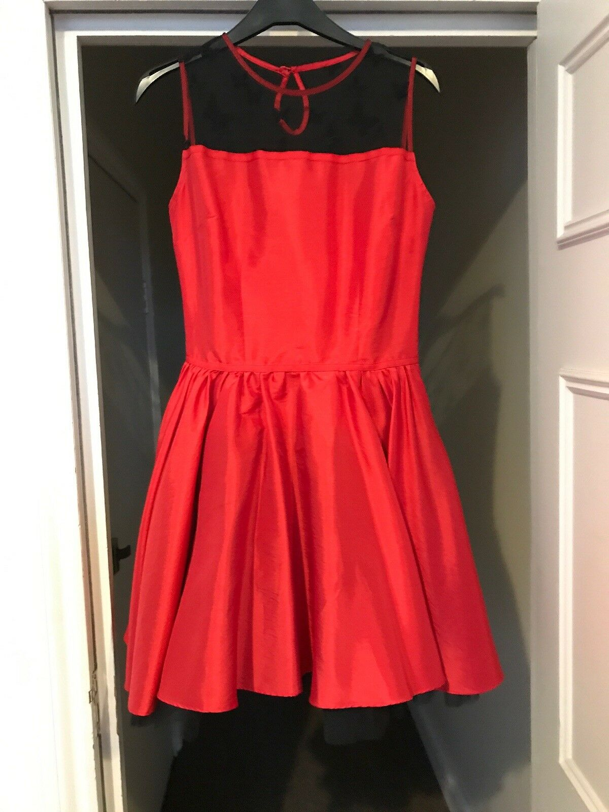 Nishe Red Butterfly Dress Size 8