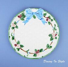 "RARE! 10-1/4"" Dinner Plate, NEAR MINT Condition! Ribbon & Bow, Haldon Group"