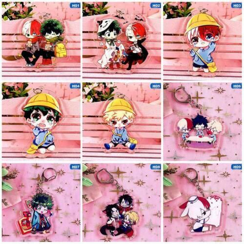 Boku No Hero Academia My Hero Academia Keychain Keyring Double Lldty  #