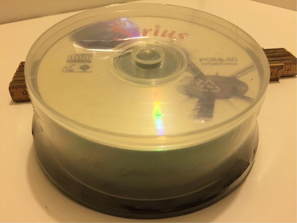 CD skiver, Sirius