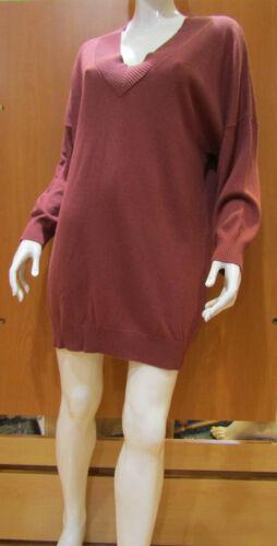 PULLOVER MARJOLAINE CACHEMIRE modèle TEDDY couleur NOCTURNE Taille 42
