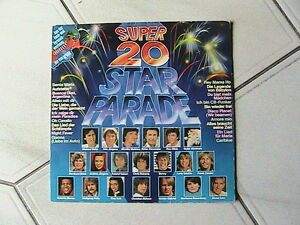 Vinyl-LP-Super-20-Star-Parade-26444-XST-1978-Germany