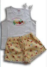 Lotto stock completo top shorts t-shirt fragole GYMBOREE bimba bambina 3 anni