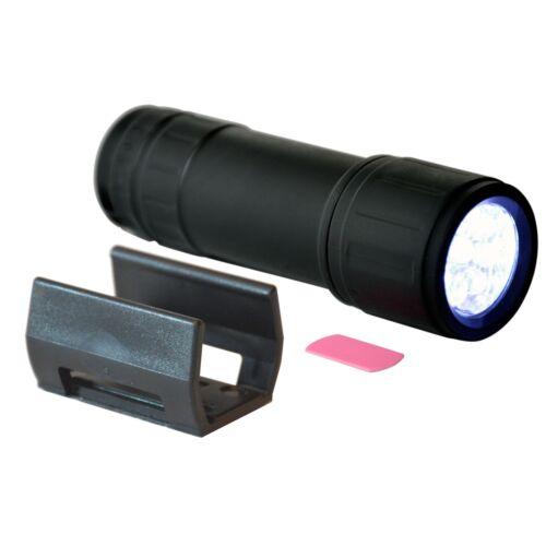 RICHTER mit Halterung für Auto KFZ Boot Hand Taschenlampe Soft Touch von HR