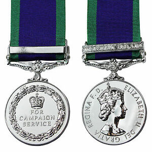 British-Made-Medal-NORTHERN-IRELAND-GSM-with-CLASP-FULL-SIZE-General-Service