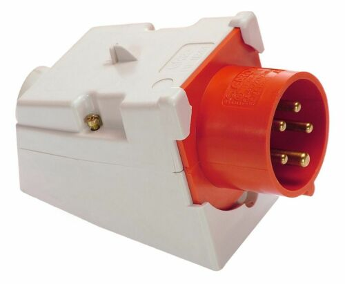 as Schwabe CEE Wandgerätestecker 32A//400V 5-polig