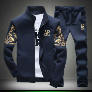 2pcs-Set-Men-Casual-Tracksuit-Sport-Jogging-Athletic-Jacket-Pants-Sportswear