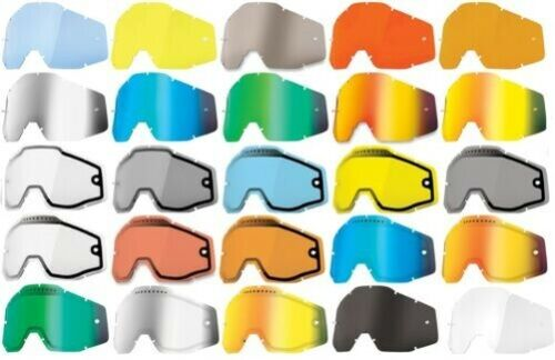 100/% Replacement Lens for Accuri//Racecraft//Strata MX Goggles