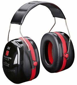 3M-Peltor-H540A-411-SV-Optime-III-Ear-Muffs-Headband-35-dB-BlackRed