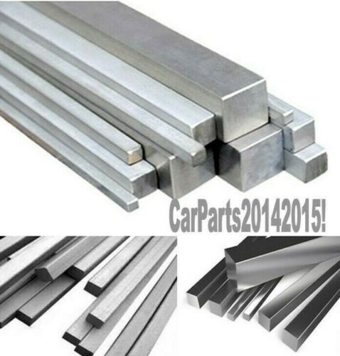6082-T6.. 19.05mm x 19.05mm Aluminium solid square section Length; 375mm