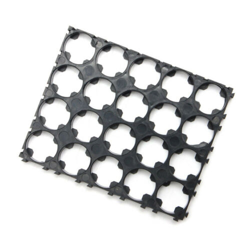 10PCS 18650 Battery 4x5 Cell Spacer Radiating Shell Plastic Heat Holder BBC