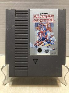 100-WORKING-NINTENDO-NES-Classic-Game-Cartridge-KONAMI-BLADES-OF-STEEL