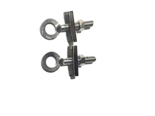 """2 x  BMX CHAIN ADJUSTERS TENSIONERS Bike-Cycle-Bicycle Chain Tugs 3//8/""""10mm"""
