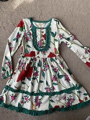 NWOT Matilda Jane Girls Make Believe Matinee Dress Size 6