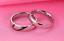 Anello-Coppia-Fedine-Fidanzamento-Amicizia-Amore-Cuore-spezzato-Love-Fedi-Regalo miniatura 3
