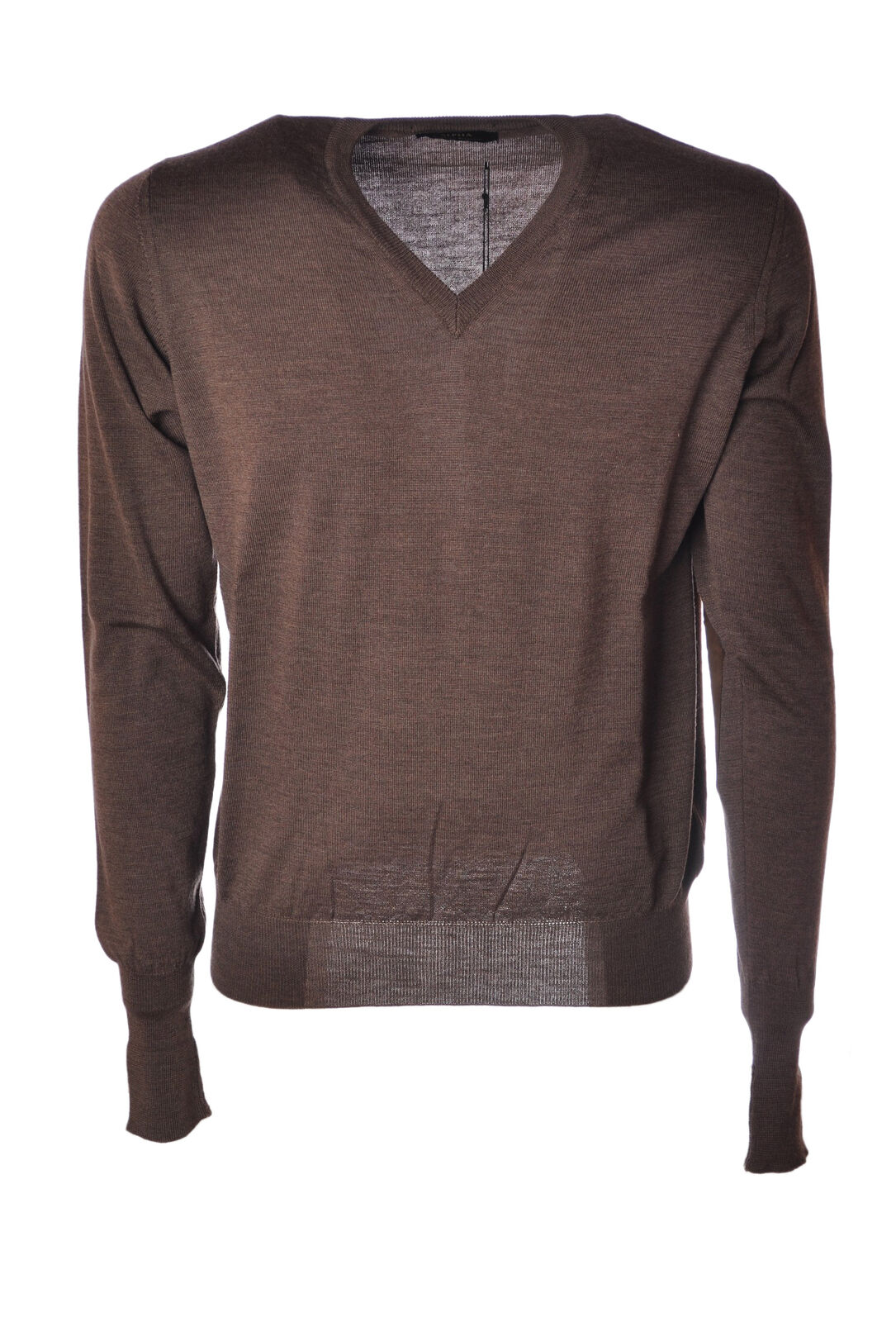 Alpha  -  Sweaters - Male - Brown - 4621222A180214