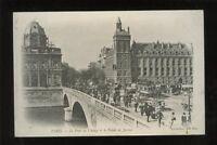 France PARIS Le Pont au Change 1904 u/b animated PPC by ND