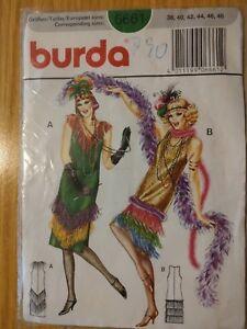 BURDA-Schnittmuster-20ger-Jahre-Kleid