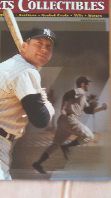 Mickey Mantle Beckett Sport Collectibles October 1999 Issue #102 NY Yankees