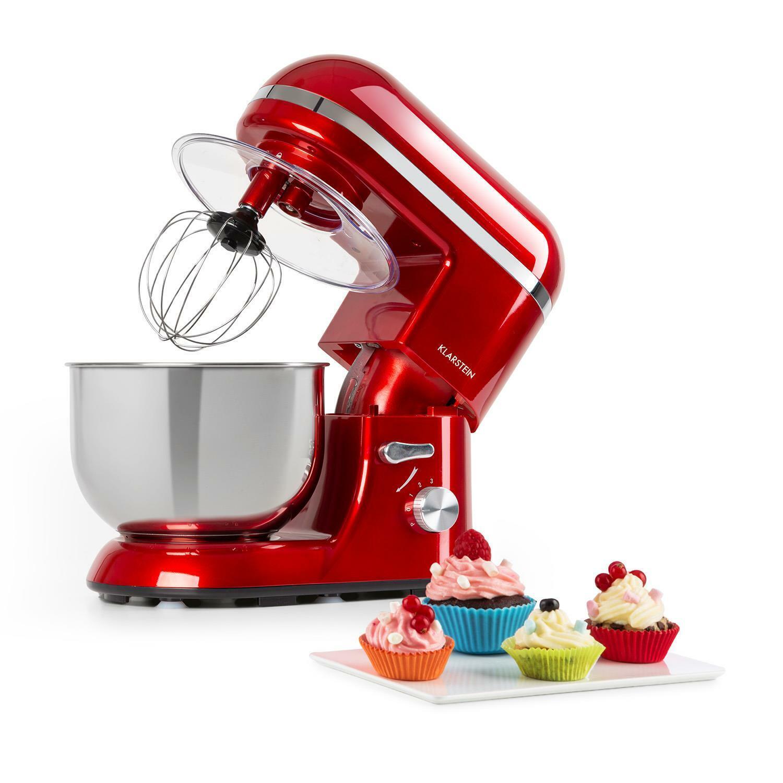 Klarstein Bella Elegance Robot de cocina 1300W 1,7PS 6 niveles 5 litros...