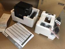 Epson Tm M30 M335a Thermal Pos Receipt Printer Usb Ethernet Open Box