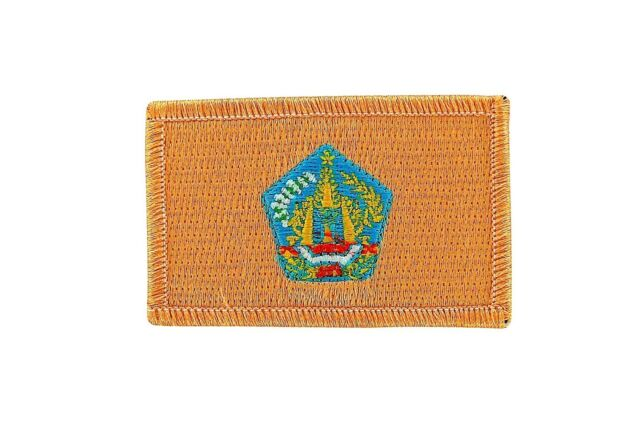 Bali Flag Patch Patches Embroidered Iron On Indonesia Backpack Travel Souvenir