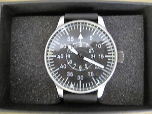Luftwaffe-Fliegeruhr-Quartz-Uhr-Pilotenuhr-Pilot-Watch-US-Army-Wehrmacht-WK2-WW2