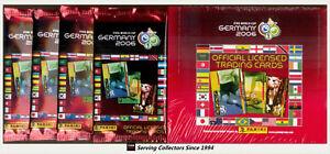 Panini 2006 Germany Fifa World Cup Soccer Trading Card Factory Box 24 Packs 8018190027426 Ebay