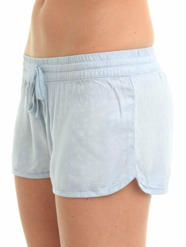 Hurley Women/'s Beachrider Woven Shorts Chambray Dobby