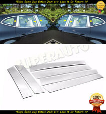For 2014-2019 Nissan Rogue Chrome Mirror COVERS W//TS+STAINLESS STEEL Pillar Post