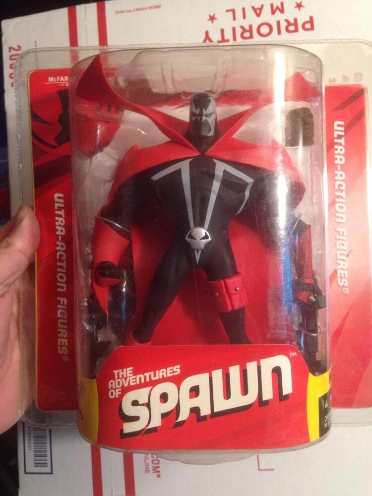 SPAWN X Act Fig MCFARLANES THE ADVENTURES OF THE SPAWN SERIES 32 VARIANT HEAD