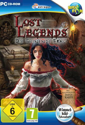 1 von 1 - Lost Legends: Die weinende Frau (PC, 2015, DVD-Box)