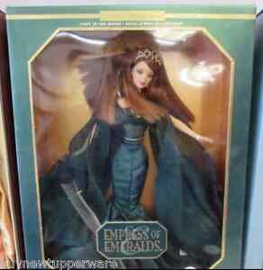 2000 Empress of Emeralds Barbie Doll Limited Edition 1st in Series #25680
